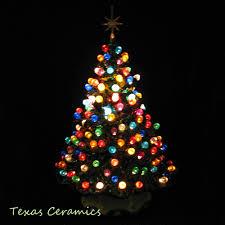 excellent ideas ceramic tabletop christmas tree lights vintage new