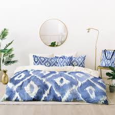 painterly ikat in indigo bed in a bag natalie baca
