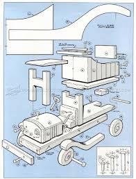 wooden truck toy wooden toy truck plans u2022 woodarchivist