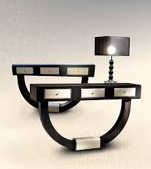 Venetian Console Table Furniture 2 Units Venetian Console Tables Design Plus Black