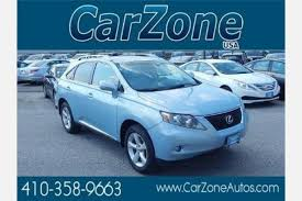 lexus 350 used for sale used lexus rx 350 for sale in baltimore md edmunds