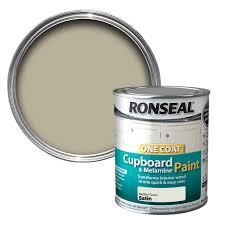 ronseal mellow green satin cupboard paint 750 ml departments