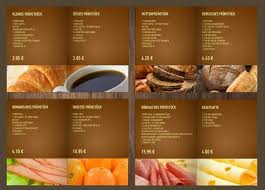 menu template 27 bakery menu templates free sle exle format