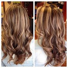 trending hair colors 2015 pictures light brown highlights and lowlights women black