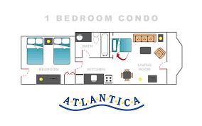 1 Bedroom Condo Myrtle Beach 1 Bedroom Condo Atlantica Resort