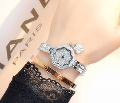 ladies bangle bracelet watches images Luxury women watches ladies diamond bracelet watch female rose jpg