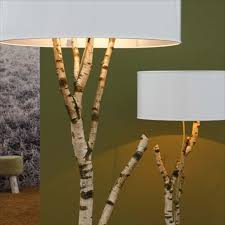 Bird And Branch Table Lamp by Extravagant Tree Branches