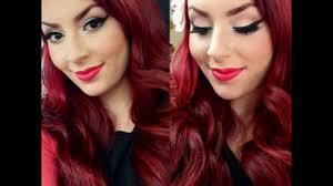 invierno 2016 color de pelo rojo de tendencia cabellos rojos imponen su moda el 2017 youtube