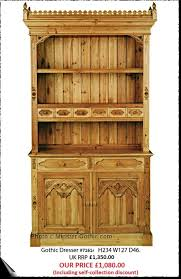Gothic Cabinet Dresser Keenpine Gothic Range Of Furniture Hand Made From Reclaimed Pine