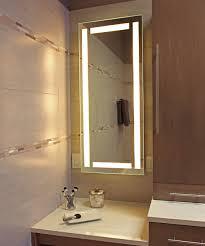 Electric Mirror Bathroom Bathroom Efinity Lighted Mirror Electric Mirror With White