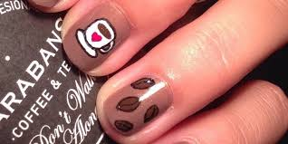 coffee nail art that will perk up your monday morning huffpost