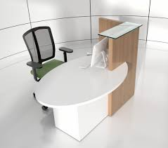 ovo reception desk right handed counter buy online at best price