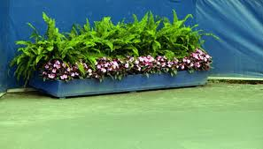 how to attach a planter box to a fence garden guides