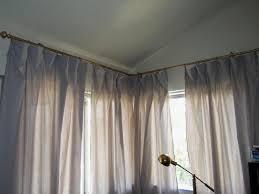 Curtain Rods Ikea by Corner Window Curtain Rod Nana U0027s Workshop