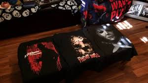 Halloween T Shirts by Halloween Slasher Icon Shirts From Walmart 2016 Youtube
