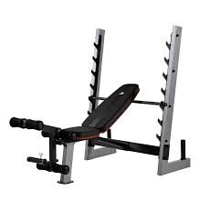 amazon com adidas olympic weight bench standard weight benches