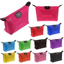 big waterproof cosmetic makeup bag nylon handbag purse pouch