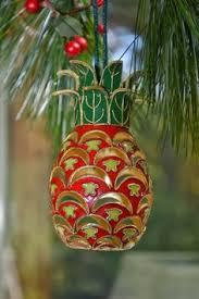 williamsburg lenox pineapple ring holder ornament pineapple ornament