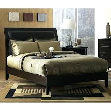 Black Leather Sleigh Bed Black Leather King Size Headboard Stunning Leather Headboard King