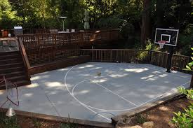 san francisco outdoor basketball court landscape traditional with