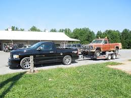 jeep hauling trailer towing dodge ram srt 10 forum viper truck club of america