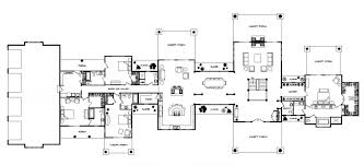 custom ranch floor plans bowen ranch log homes cabins and log home floor plans