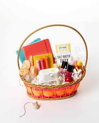 easter gift baskets 31 awesome easter basket ideas martha stewart