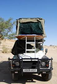 land rover safari roof tom chesshyre a diy safari in namibia