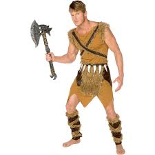 cave woman halloween costume caveman men u0027s dress up role play costume walmart com