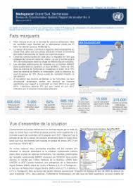 bureau du coordonnateur madagascar grand sud sècheresse bureau du coordonnateur résident