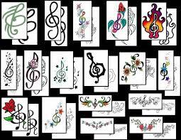 treble clef tattoos what do they mean tattoos designs u0026 symbols