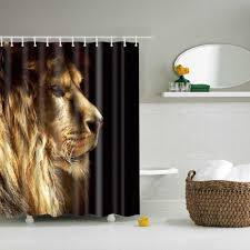 Cheap Bathroom Showers by Online Get Cheap Bathroom Shower Curtain With Lion Aliexpress Com