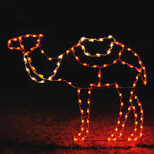 shop holiday lighting specialists 5 42 ft camel outdoor christmas
