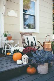 Fall Porch Decorating Ideas Eclectic Fall Porch Decorating Ideas