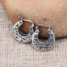 thailand earrings sterling silver thai silver silver thailand handmade earrings