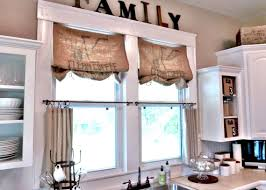 kitchen window valance ideas easy ideas of diy kitchen window valances the new way home decor