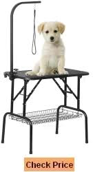 large dog grooming table 11 best foldable dog grooming tables for small and large breeds