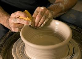 throwing a pot about kenneth g merrill artist and potter canyon creek pottery