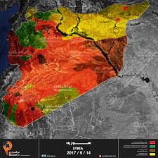 Maps Syria by Updated Syria Map Who Control What Muraselon