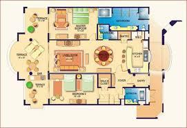 villa house plans luxury villa house plans homes zone