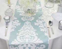 ice blue table runner choose your table runner blue table runner blue wedding