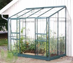 6ft X 8ft Greenhouse Vitavia Green Framed Ida 3300 8ft X 4ft Lean To Greenhouse