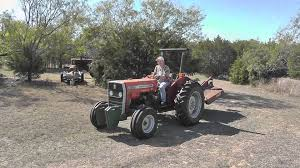 massey ferguson 253 tractor youtube