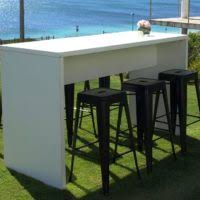 High Top Table Set Furniture Cool Wood High Top Outdoor Bar Square Shape Great