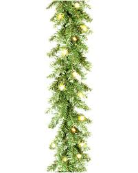 amazing deal on national tree company 9 x10 spruce garland