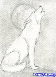 wolves to draw step 9 how to draw a howling wolf pictures