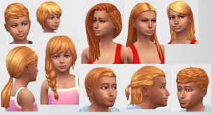 pack hair the sims 4 the best hair of 2017