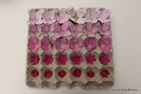 roses out of egg cartons 5 steps with pictures