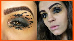 bat halloween makeup tutorial youtube