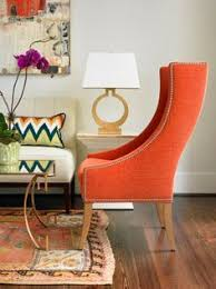 Orange Accent Chair Matthew Peters Mathdpeters On Pinterest